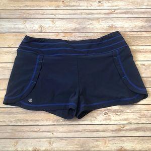 Athleta blue athletic running shorts size XL